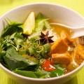 Pho  - vietnamesische Nudelsuppe - vegan