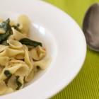 Pastasotto mit Spinat