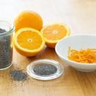 Orangen und Mohn