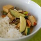 Grünes Thai-Gemüse-Curry