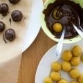 Kuchenkonfekt in Schokolade