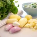 Zutaten Brunnenkresse-Suppe