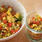 frischer Maissalat
