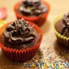 Schoko-Kokos-Cupcakes