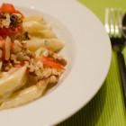 Nudeln mit Gorgonzola