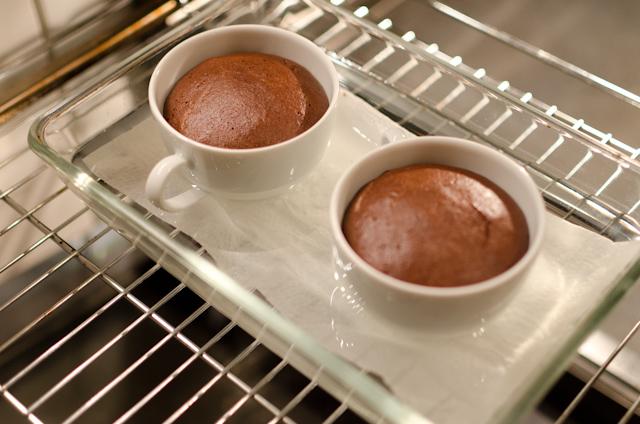 Baked Hot Chocolate frisch aus dem Ofen