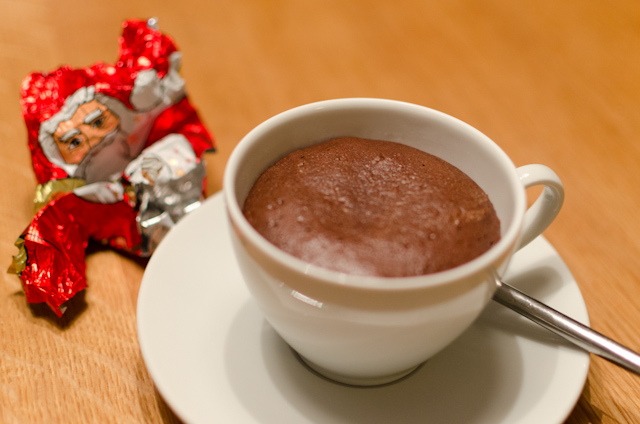 Bake Hot Chocolate oder Supermegaschokokuchen