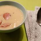 Sauerkrautsuppe mit Mettwürstchen