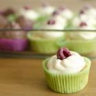 Rhabarber-Marzipan-Cupcakes