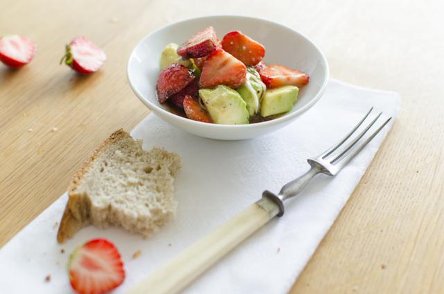Erdbeer-Avocadosalat