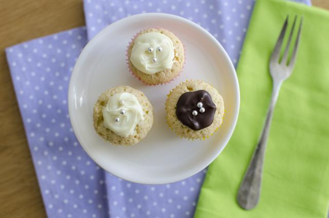 Zitrus-Vanille-Mini-Cupcakes