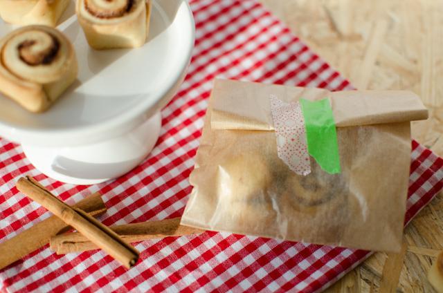 Mini-Zimtschnecken