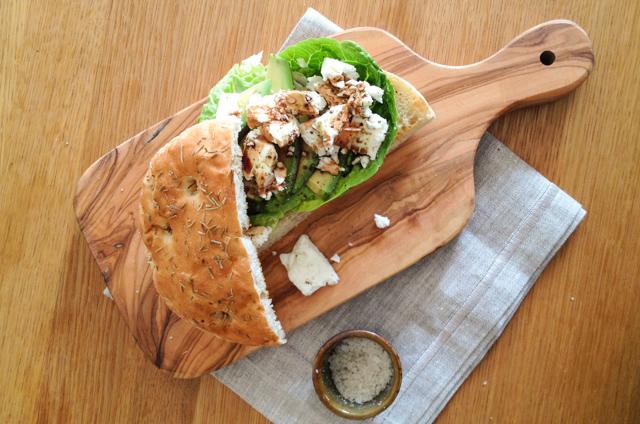 Feta-Avocado-Sandwich