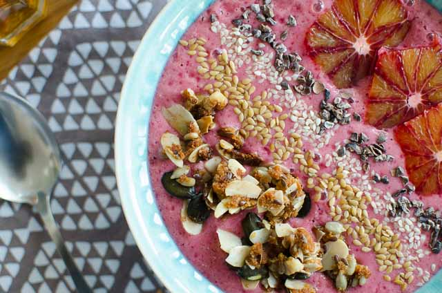Smoothiebowl pink