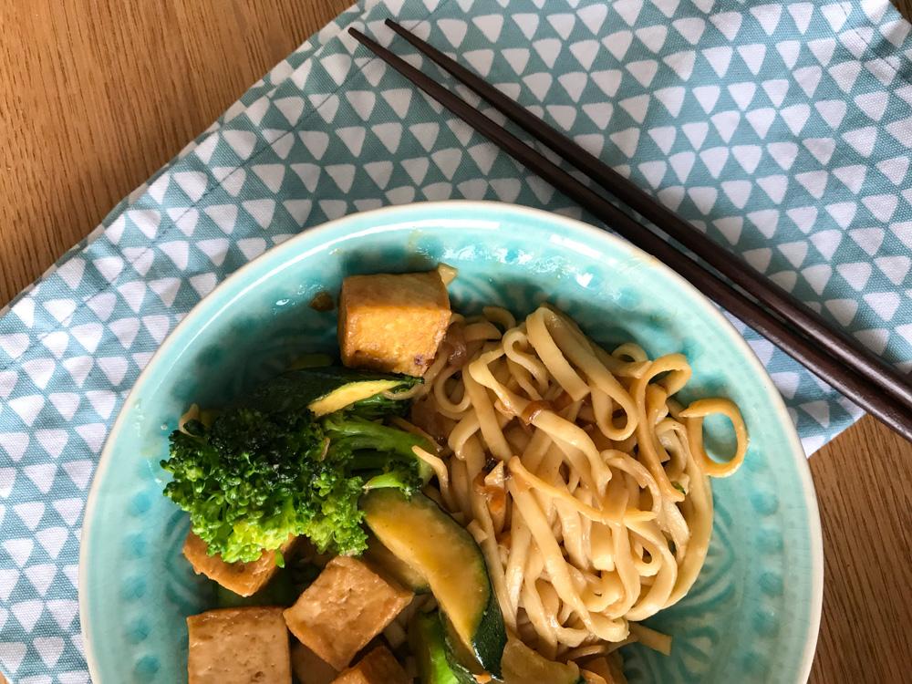Erdnuss-Tofu